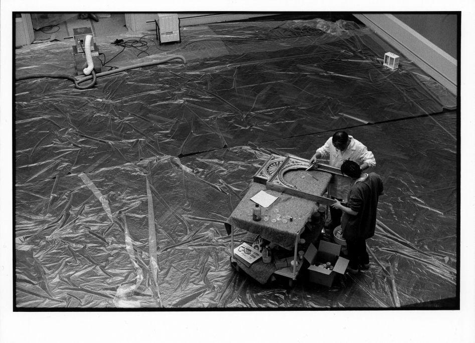 Die Gemäldegalerie im Jahr 1957©Staatliche Museen zu Berlin Foto: Erik-Jan Ouwerkerk