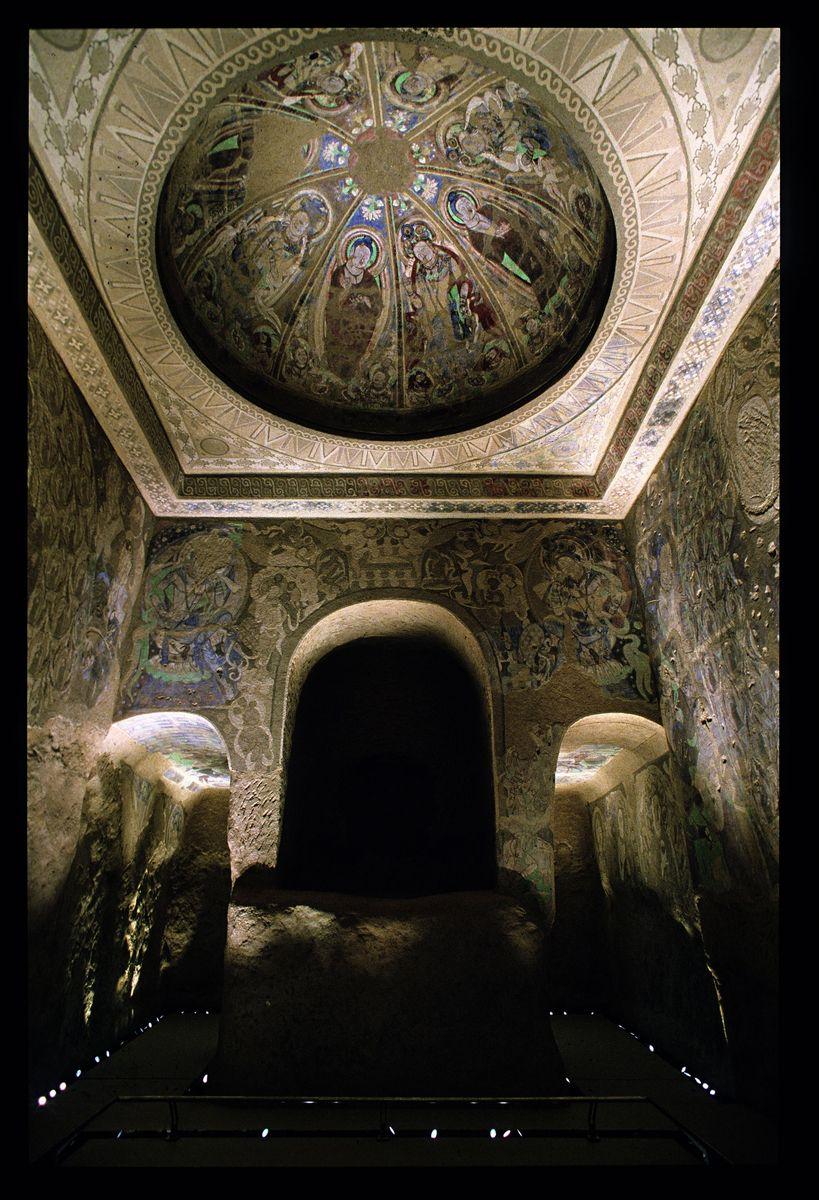 """Die """"Höhle der ringtragenden Tauben"""" im Museum für Asiatische Kunst © Staatlichen Museen zu Berlin, Museum für Asiatische Kunst / Jürgen Liepe"""