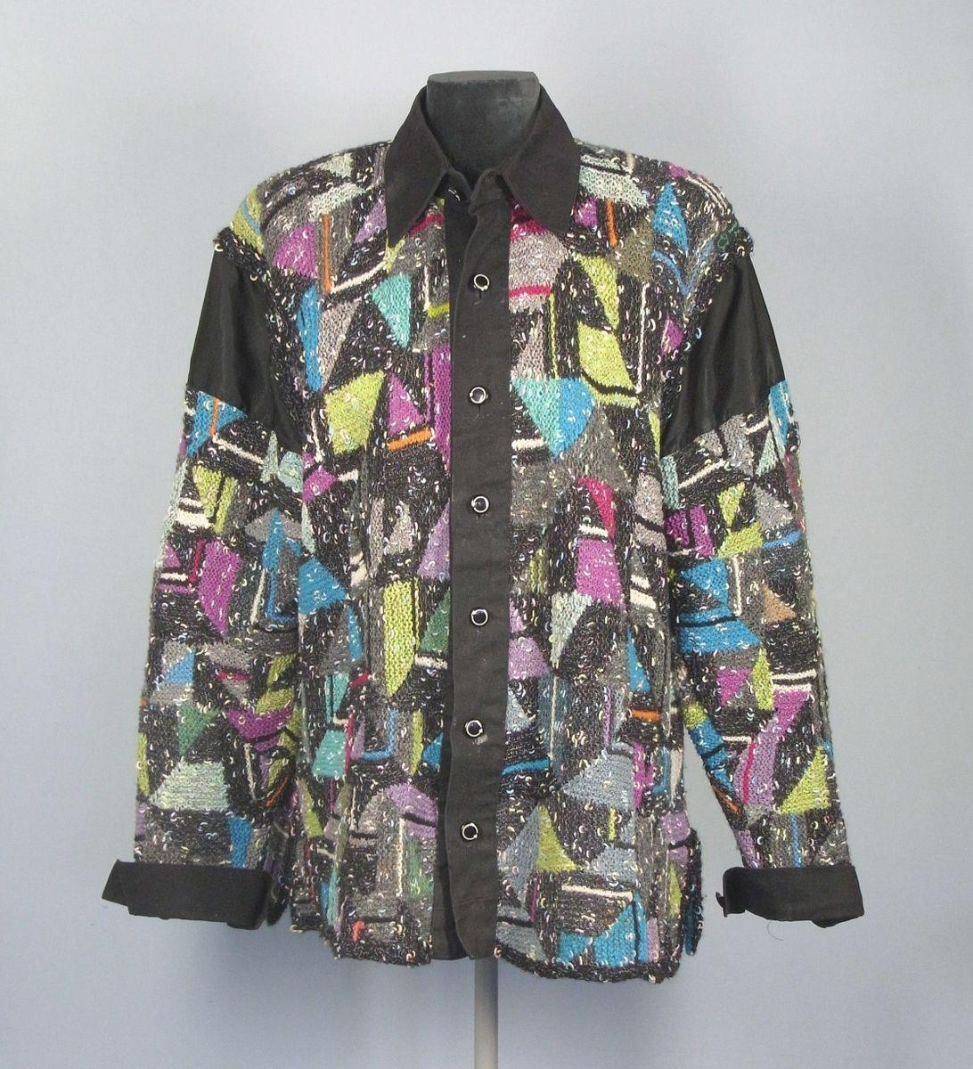 Gestricktes Männerhemd, Horst Schulz, Berlin, ca. 1995 © Staatliche Museen zu Berlin, Museum Europäischer Kulturen