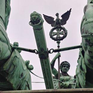 Quadriga von Schadow auf dem Brandenburger Tor (c) Staatliche Museen zu Berlin, Gipsformerei