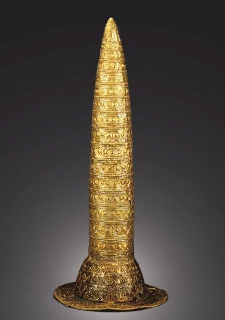 Goldhut, 1000 v. Chr. © Staatliche Museen zu Berlin, Museum für Vor- und Frühgeschichte / Claudia Plamp