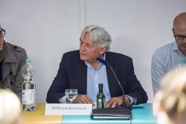Wilfried Bommert vom Institut für Welternährung e. V., Moderator des Abends © Staatliche Museen zu Berlin, Kunstgewerbemuseum/Kai von Kotze