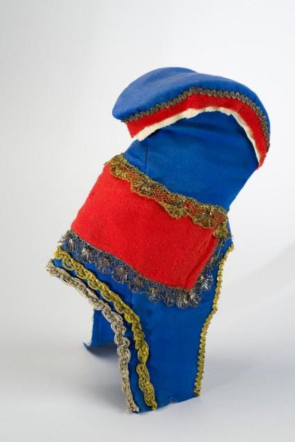 Hornmütze (ládjogahir), Sápmi/Nordnorwegen, 2. Hälfte 18. Jh.  © Staatliche Museen zu Berlin, Museum Europäischer Kulturen / Christian Krug