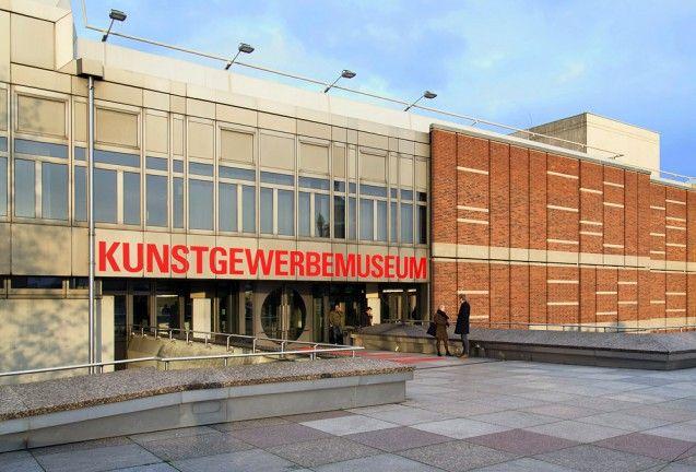 Eingang des Kunstgewerbemuseums . Foto: Fabian Fröhlich