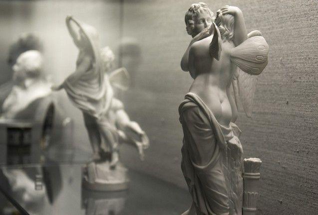 Amor und Psyche, Modell von Johann von Schadow (?), um 1791. Foto: Fabian Fröhlich