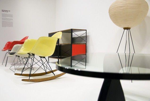 Möbel von Charles & Ray Eames und Isamo Noguchi, WANN. Foto: Fabian Fröhlich