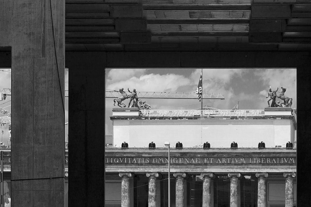 Blick zum Alten Museum. Foto: Fabian Fröhlich
