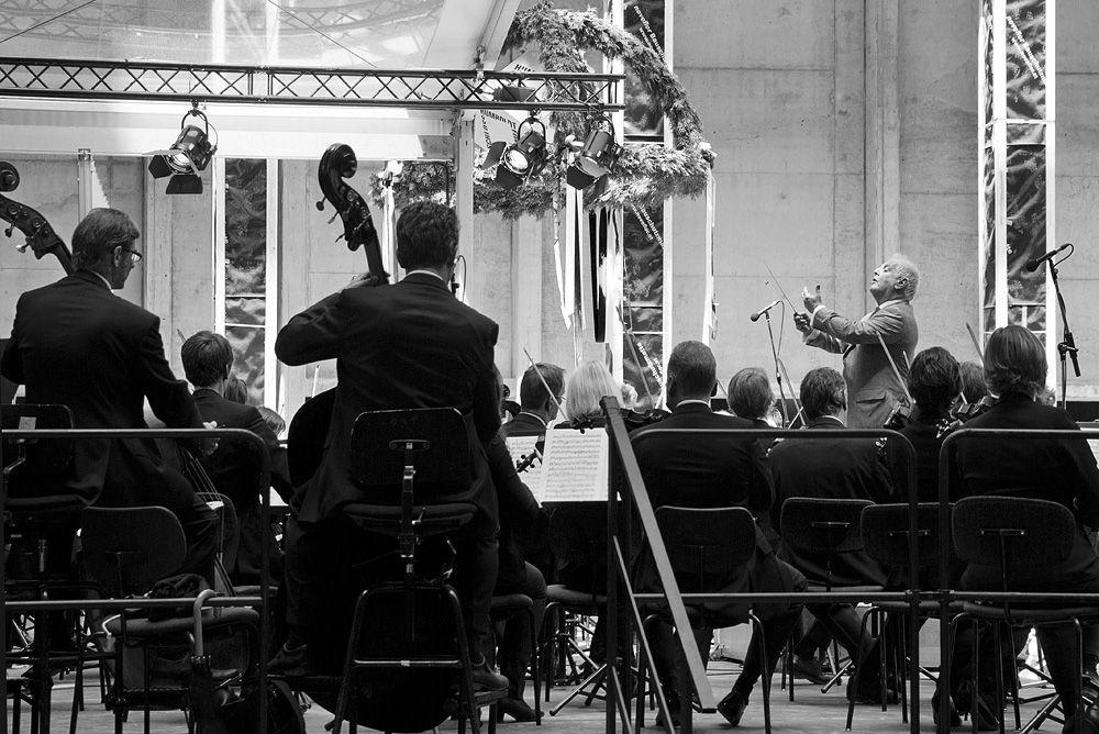 Die Staatskapelle Berlin unter der Leitung von Daniel Barenboim spielt Franz Schubert. Foto: Fabian Fröhlich