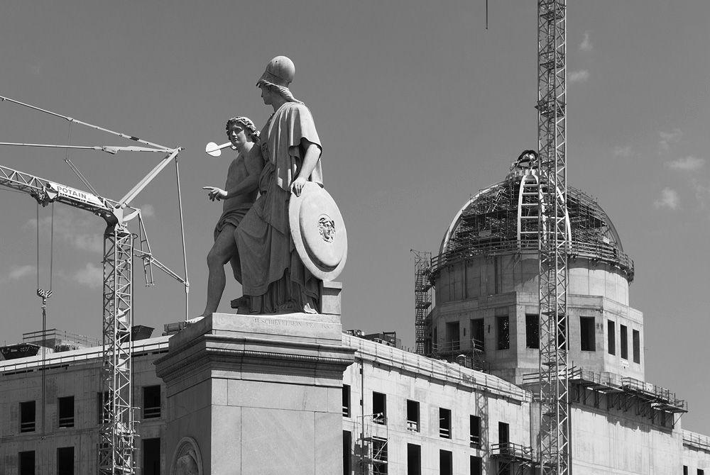 Kuppel des Humboldt-Forums. Foto: Fabian Fröhlich