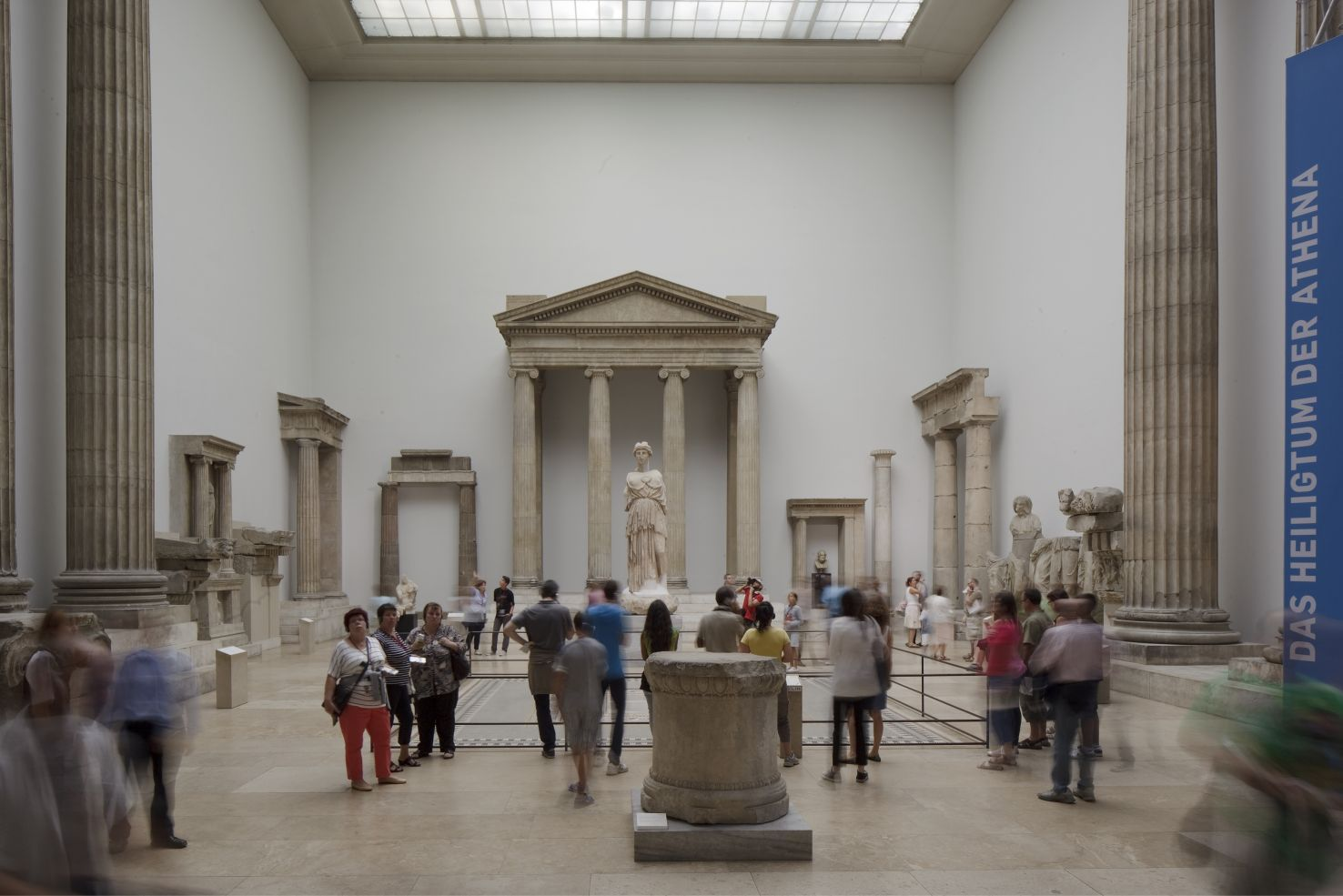 Der Hellenistische Saal vor seiner vorübergehenden Schließung. Foto: Peter Thieme
