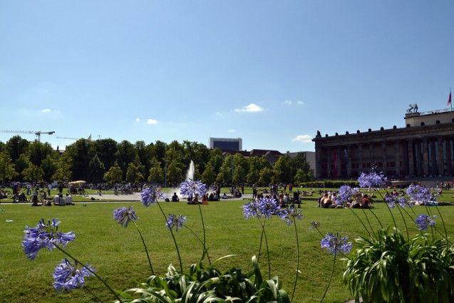 Der Lustgarten in der Sommersonne