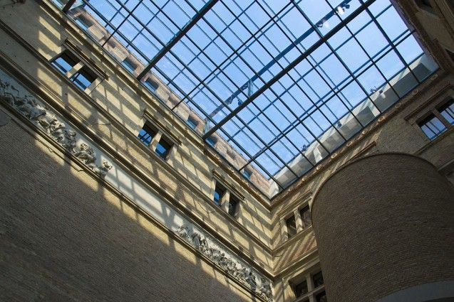 Der Griechische Hof im Neuen Museum