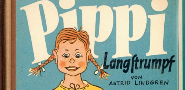 Cover der deutschen Erstausgabe von Pippi Langstrumpf © Verlagsgruppe Oetinger
