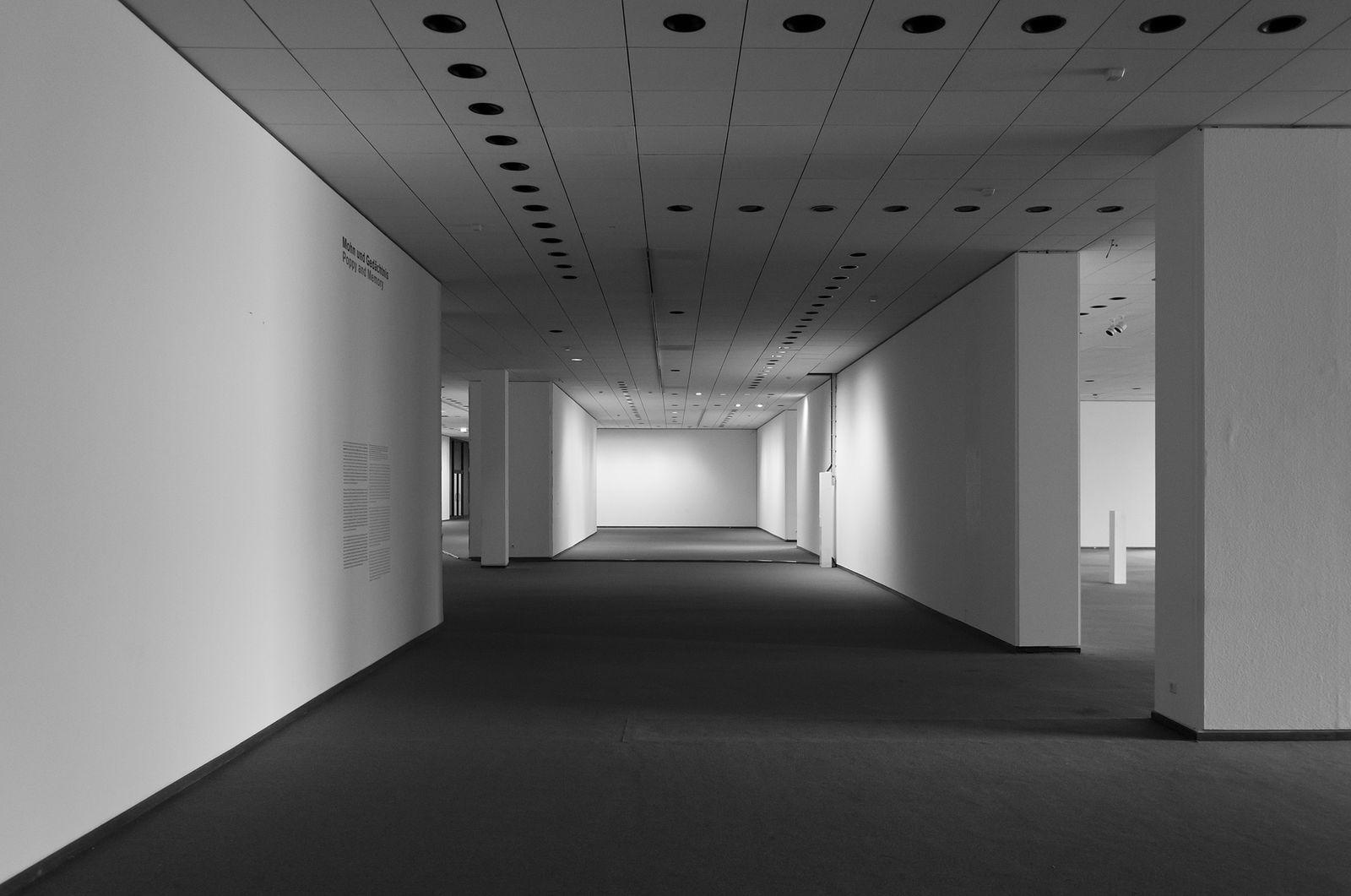 Ausstellungsräume im Untergeschoss