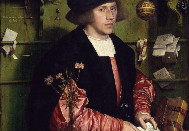 Hans Holbein d. J., Der Kaufmann Georg Gisze, 1532, Gemäldegalerie © Jörg P. Anders