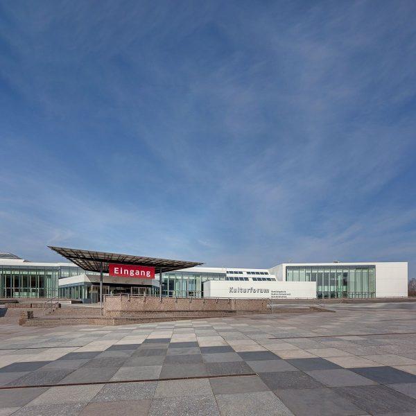 Blick auf die Piazetta des Kulturforums. Foto: Achim Kleuker