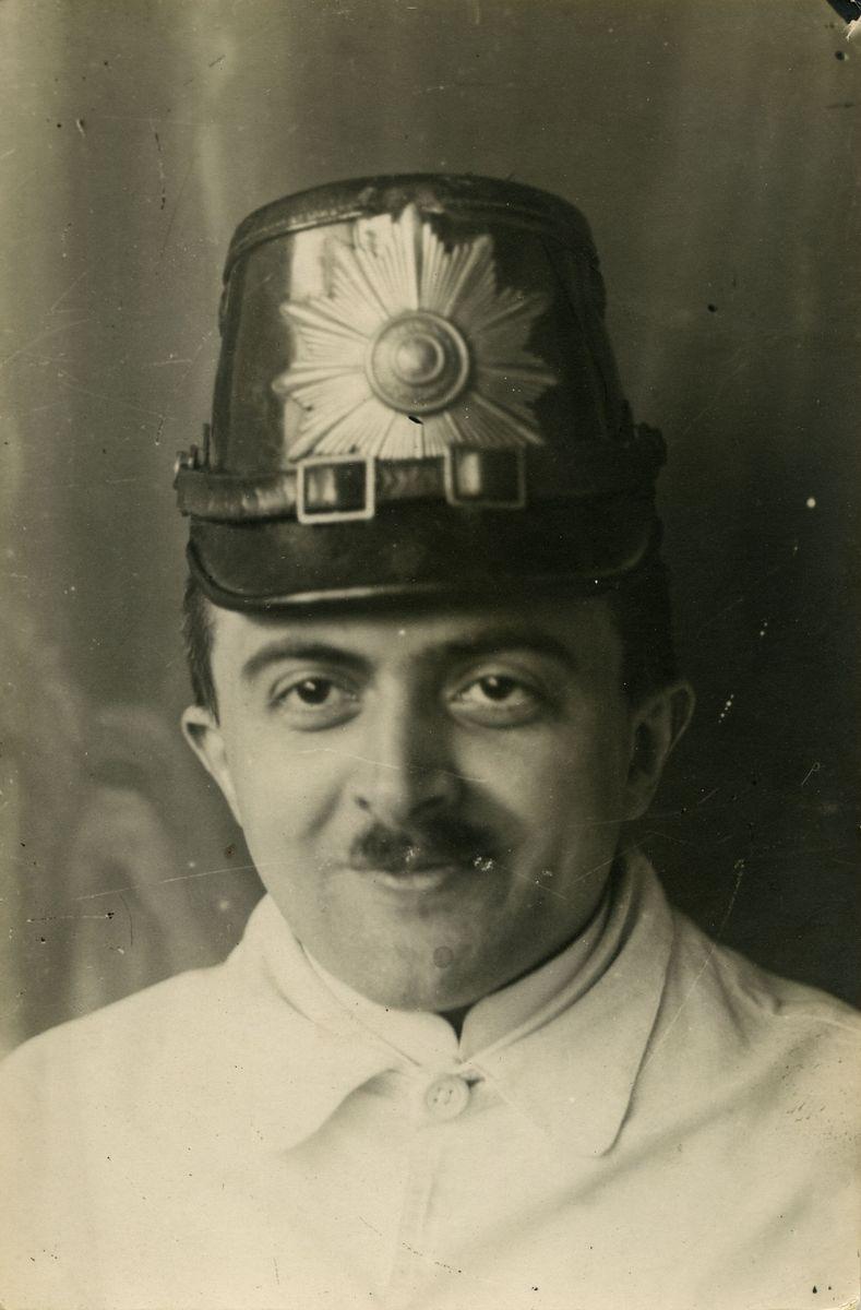 Josef Faustin: Selbstporträt (1921-1938)