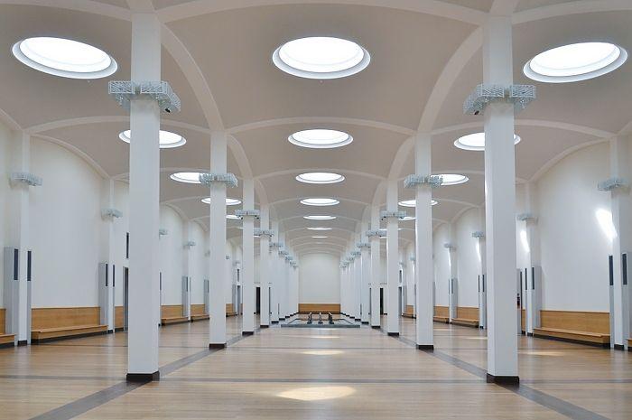 Wandelhalle in der Gemäldegalerie © Foto: Gemäldegalerie der Staatlichen Museen zu Berlin - Preußischer Kulturbesitz: Achim Kleuker