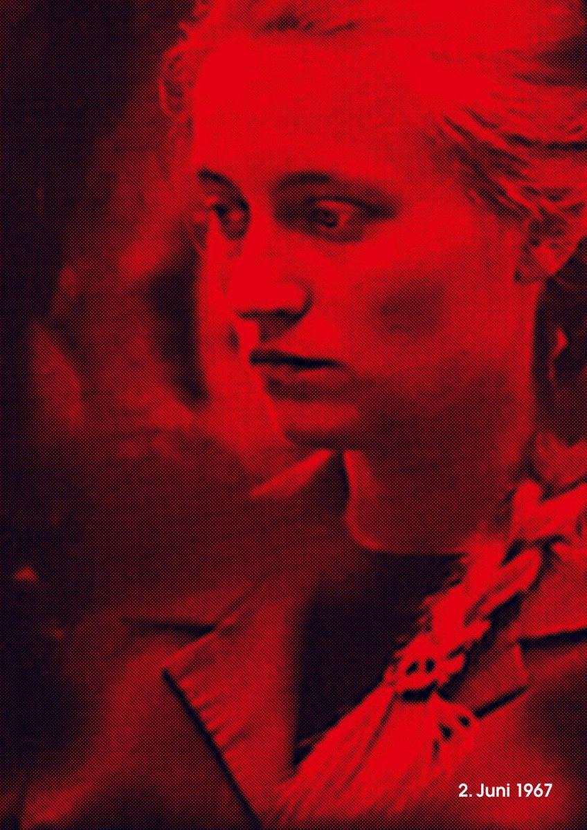 """Fons Hickmann: """"2. Juni 1967"""" (c) Fons Hickmann / 100 Beste Plakate e. V."""