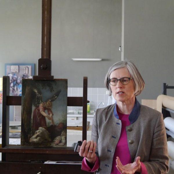 Babette Hartwieg, Leitende Restauratorin der Gemäldegalerie. Foto: SMB / Sven Stienen