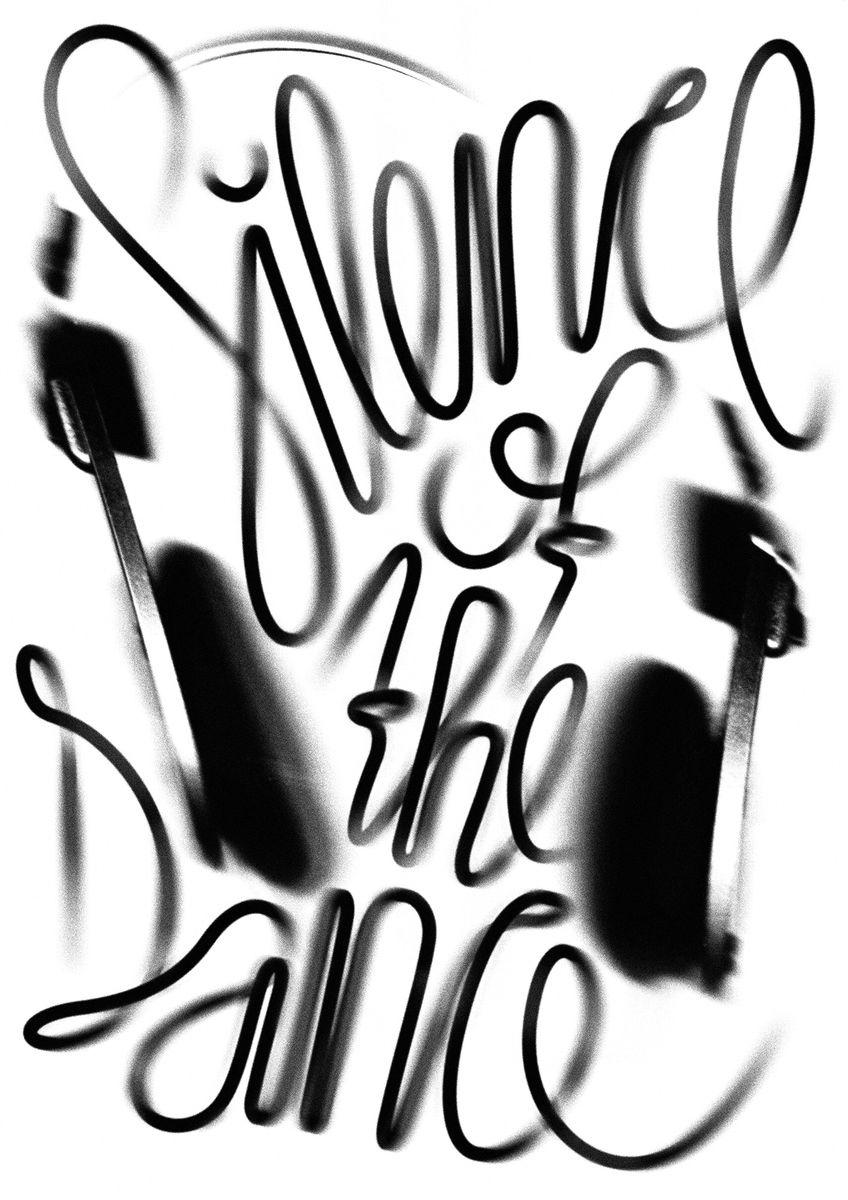 Erich Brechbühl / Kim Migliore (CH Luzern): Silence of the Dance © Erich Brechbühl / Kim Migliore / 100 Beste Plakate e. V.