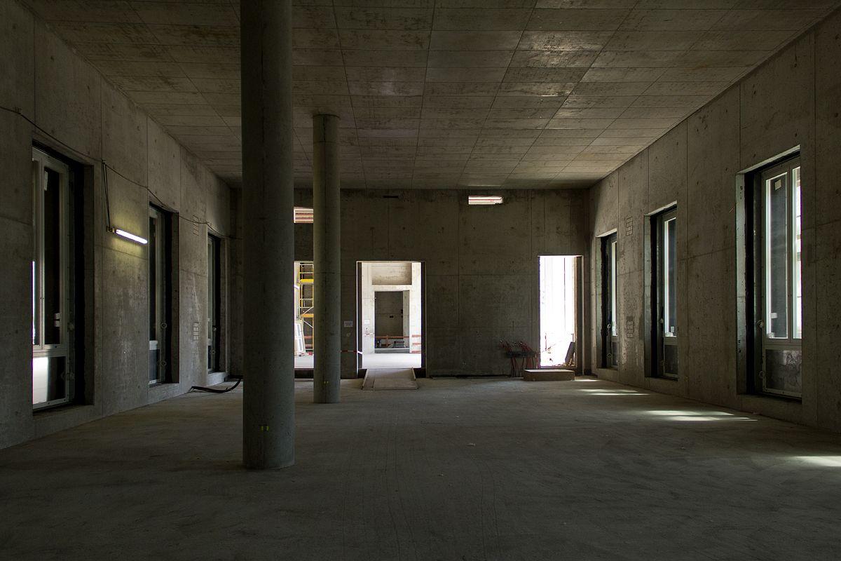 Tag der offenen Baustelle im Berliner Schloss 2016: Raum im ersten Obergeschoss