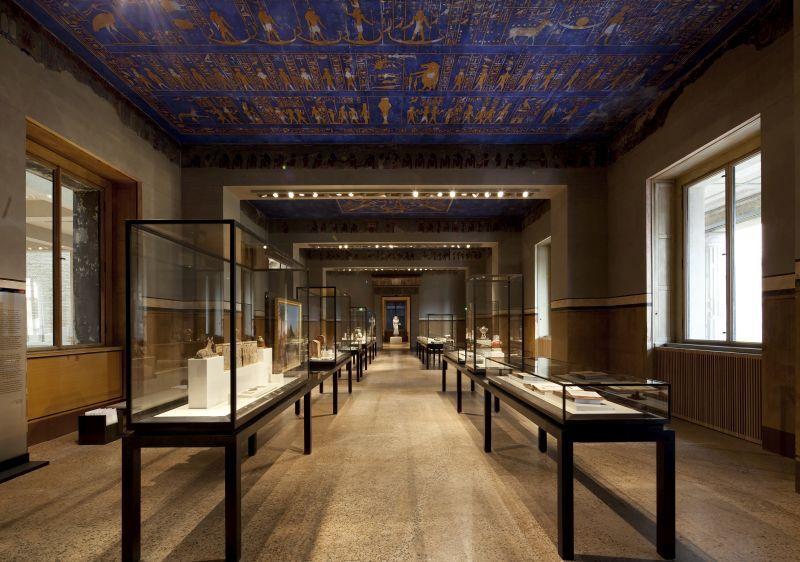 Neues Museum, Blick in den Mythologischen Saal  © Staatliche Museen zu Berlin / A. Kleuker