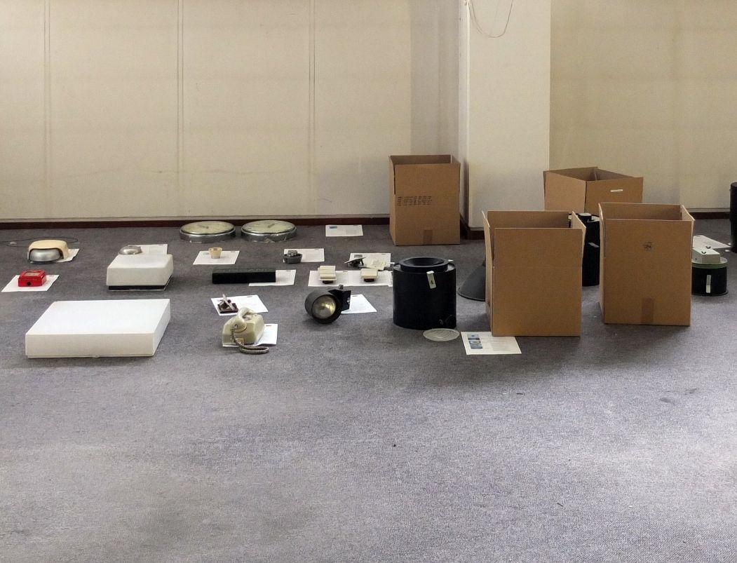 Rückbau in den Ausstellungsräumen der Neuen Nationalgalerie. Foto: schmedding.vonmarlin