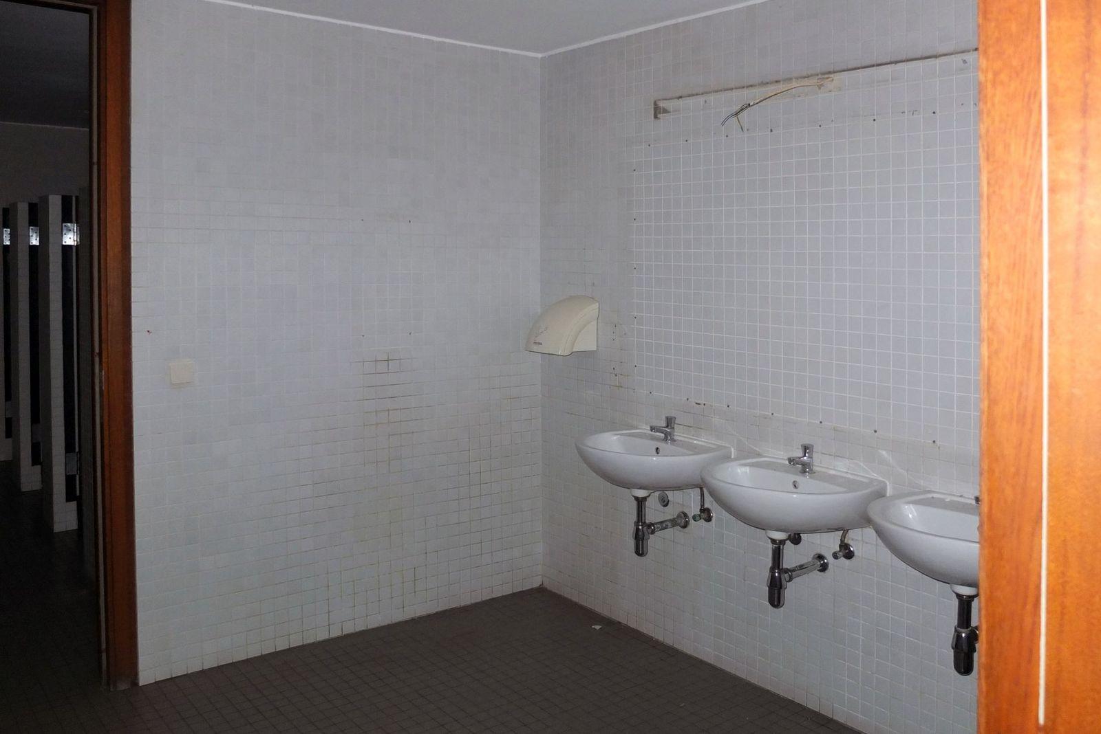 Waschbecken in der Besuchertoilette. Foto: schmedding.vonmarlin.