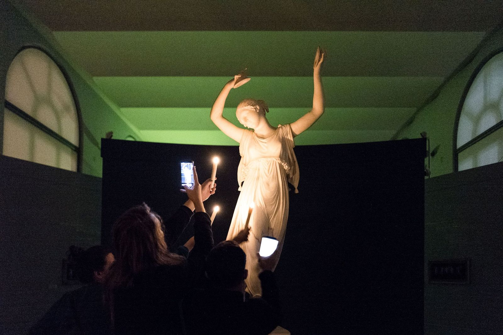 Canovas Berliner Tänzerin ist ein Star - damals wie heute. Foto: Christoph Neumann, www.christoph-neumann.com