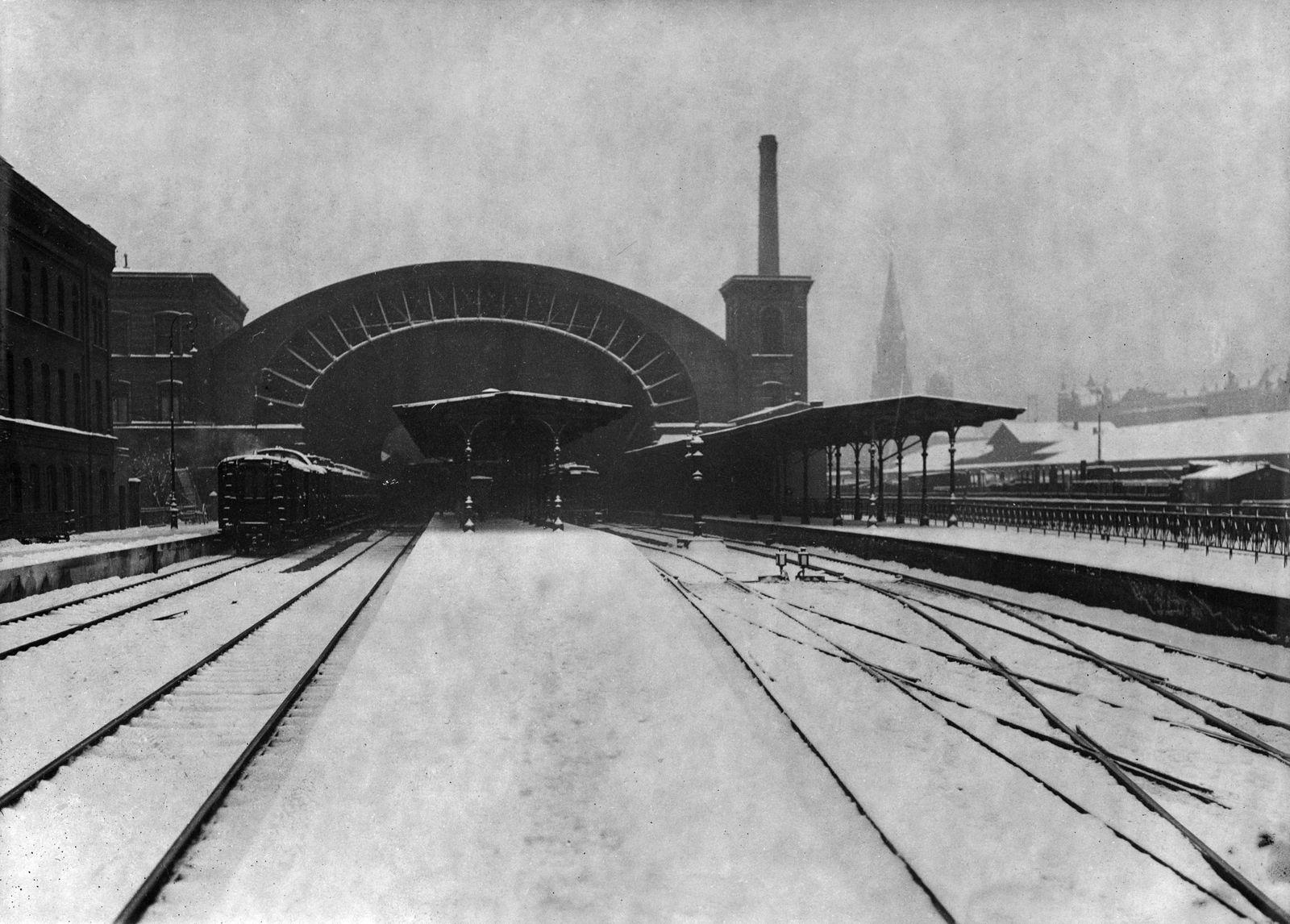 Eisenbahngelände am Görlitzer Bahnhof, 1920er Jahre © bpk / Kunstbibliothek, SMB / Willy Römer