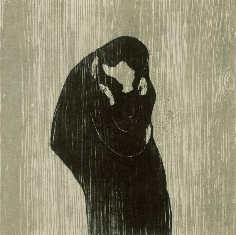 Edvard Munch: Der Kuss IV (1902). © bpk / Staatliche Museen zu Berlin, Kupferstichkabinett; Foto: Volker H. Schneider