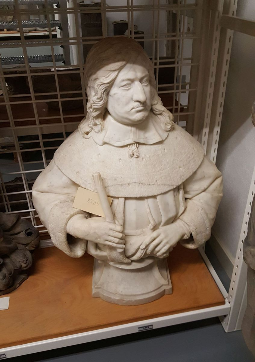 Friedrich-Wilhelm, der Große Kurfürst, Marmor, um 1650 (Skulpturensamlung und Museum für byzantinische Kunst) © Staatliche Museen zu Berlin, Zentralarchiv