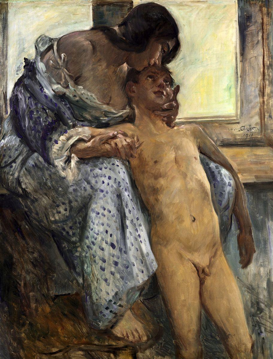 Lovis Corinth: Mutterliebe (1911) © bpk / Nationalgalerie, SMB / Klaus Göken