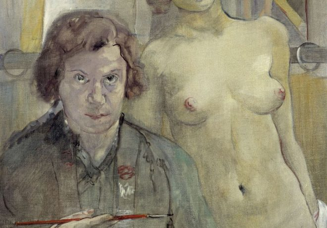 Charlotte Berend-Corinth: Selbstbildnis mit Modell (1931) © bpk / Nationalgalerie, SMB / Jörg P. Anders