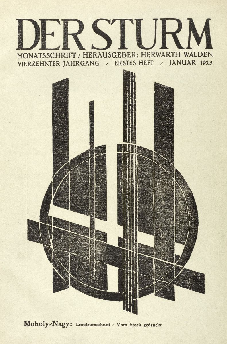 Titelblatt der Monatsschrift