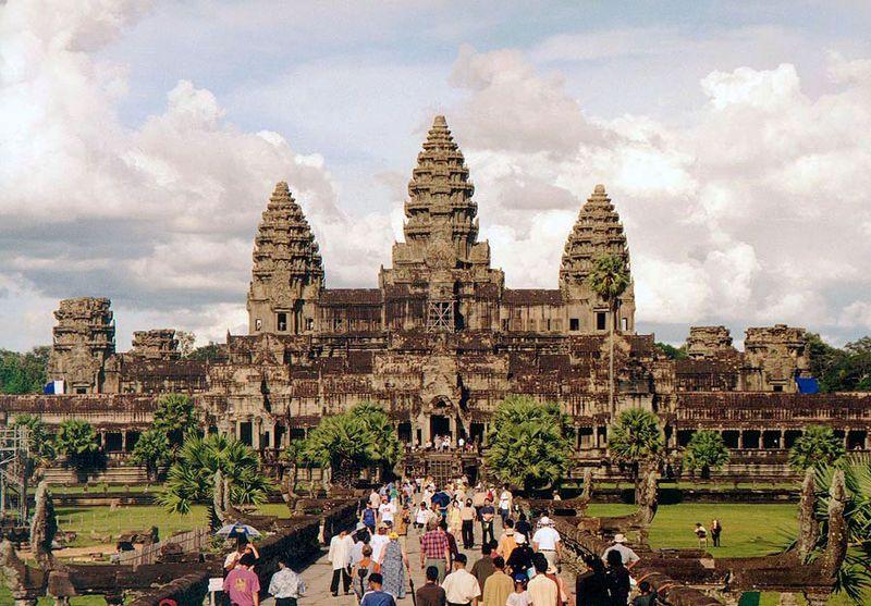 Angkor Wat, Foto: Manfred Werner, 2001