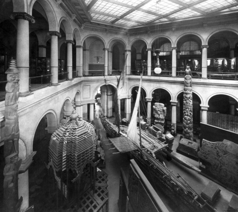 Lichthof des Museums für Völkerkunde © Staatliche Museen zu Berlin, Ethnologisches Museum