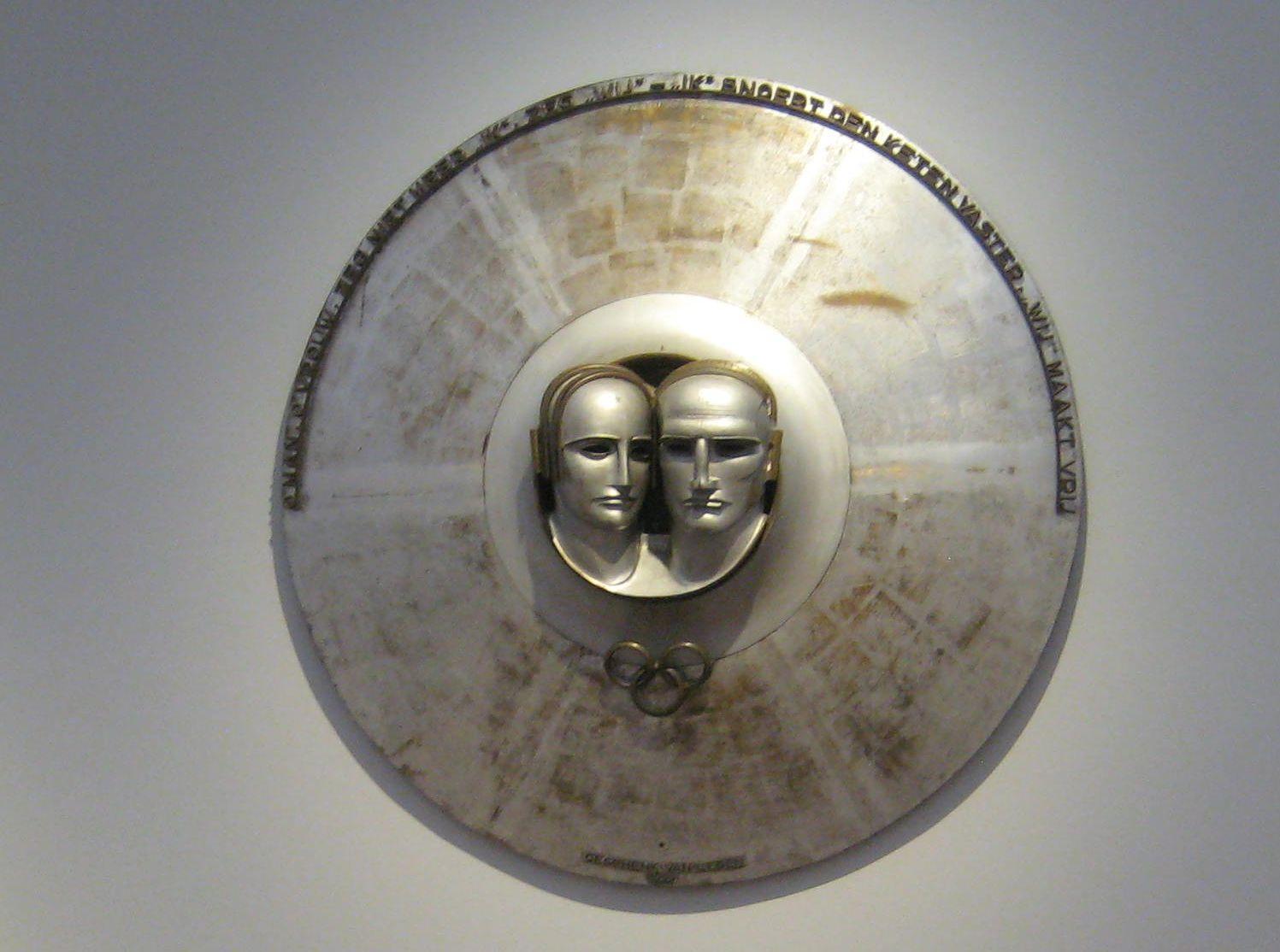Rudolf Belling: Silberner Rundschild, 1928/29. Foto: Staatliche Museen zu Berlin