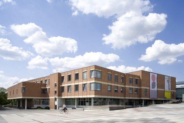 Gebäude der Kunstbibliothek und des Kupferstichkabinetts am Kulturforum