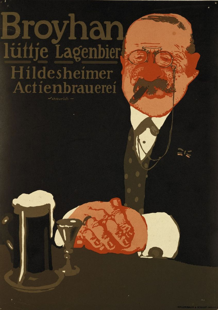 Paul Scheurich:  Broyhan lüttje Lagenbier (1911) © bpk / Kunstbibliothek, SMB / Knud Petersen
