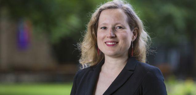 Iris Edenheiser, Stellvertretende Direktorin des Museums Europäischer Kulturen. Foto: Staatliche Museen zu Berlin / David von Becker