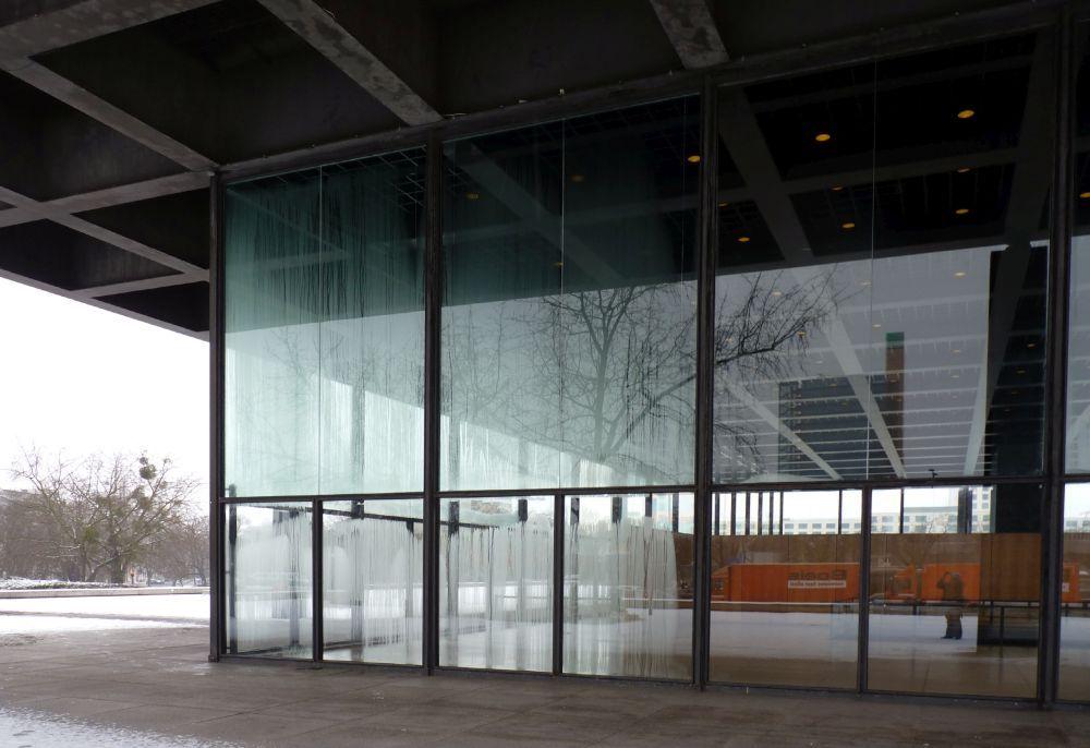 Kondensat an den Scheiben © David Chipperfield Architects für das Bundesamt für Bauwesen und Raumordnung (BBR)