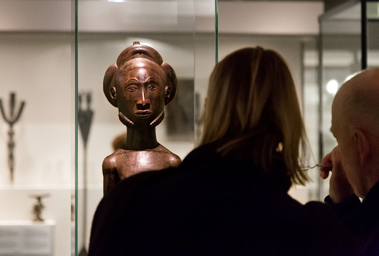 Unvergleichlich: Kunst aus Afrika im Bode-Museum. Männliche Ahnenfigur, Hemba (Demokratische Republik Kongo), 19. Jh.