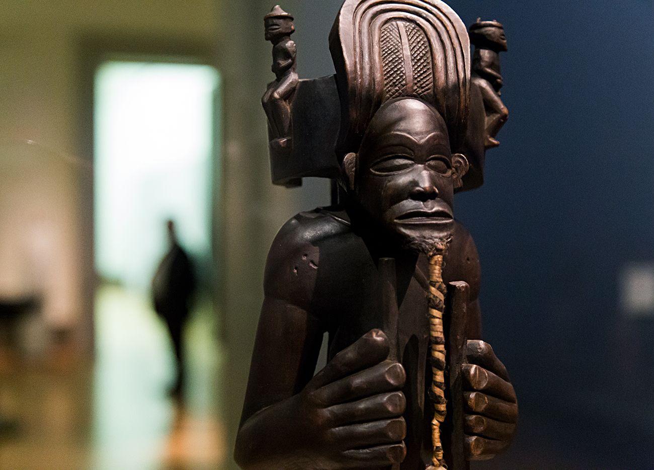 Unvergleichlich: Kunst aus Afrika im Bode-Museum. König und Kulturheros Chibinda Ilunga, Chokwe (Angola), 19. Jh.