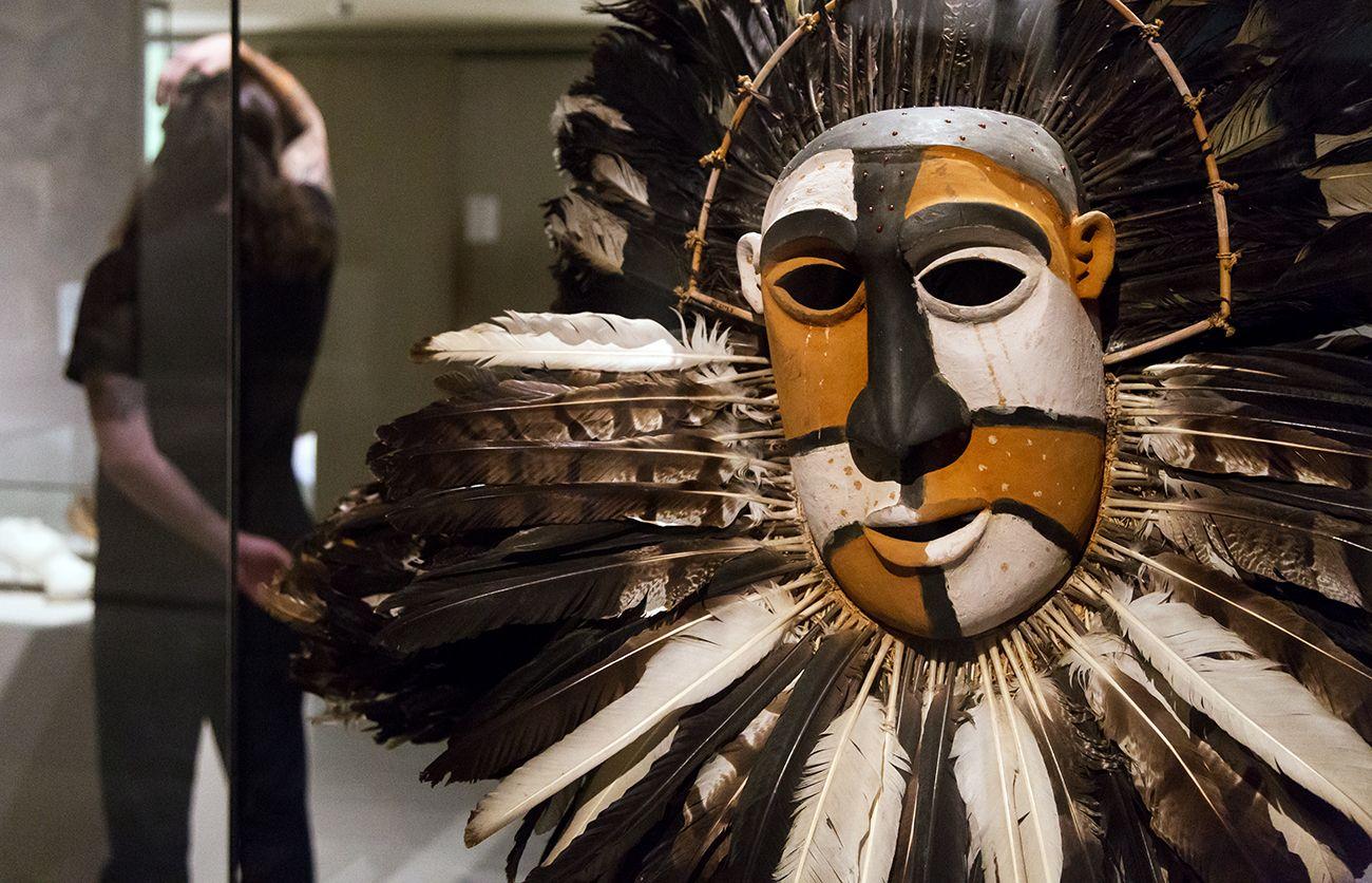 Unvergleichlich: Kunst aus Afrika im Bode-Museum. Maske der Ndunga-Gesellschaft