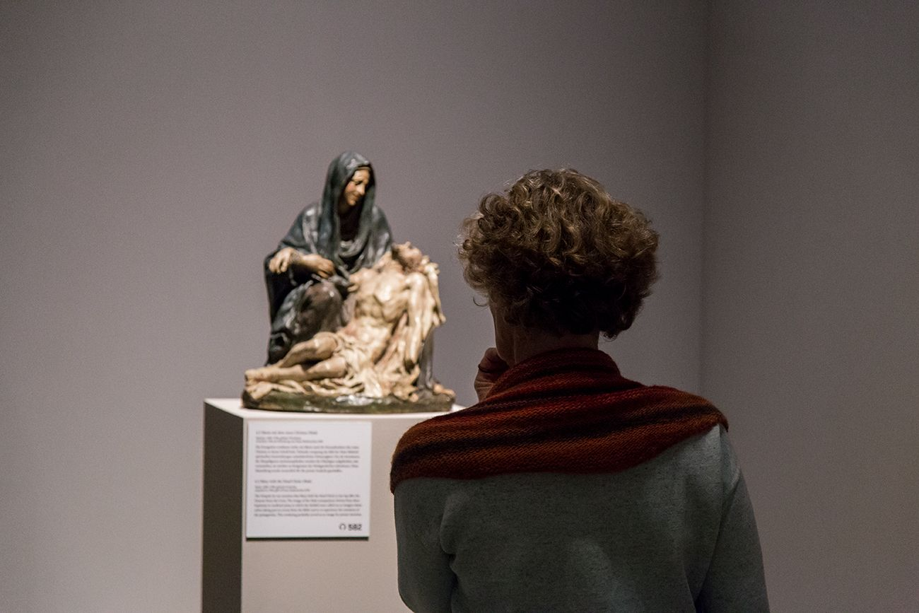Maria mit dem toten Christus (Pietà), Spanien, 1680-1700