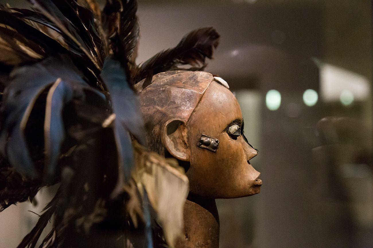 Unvergleichlich: Kunst aus Afrika im Bode-Museum. Reliquiarfigur (byeri), Fang, Ngumba (Kamerun), 19. Jh.