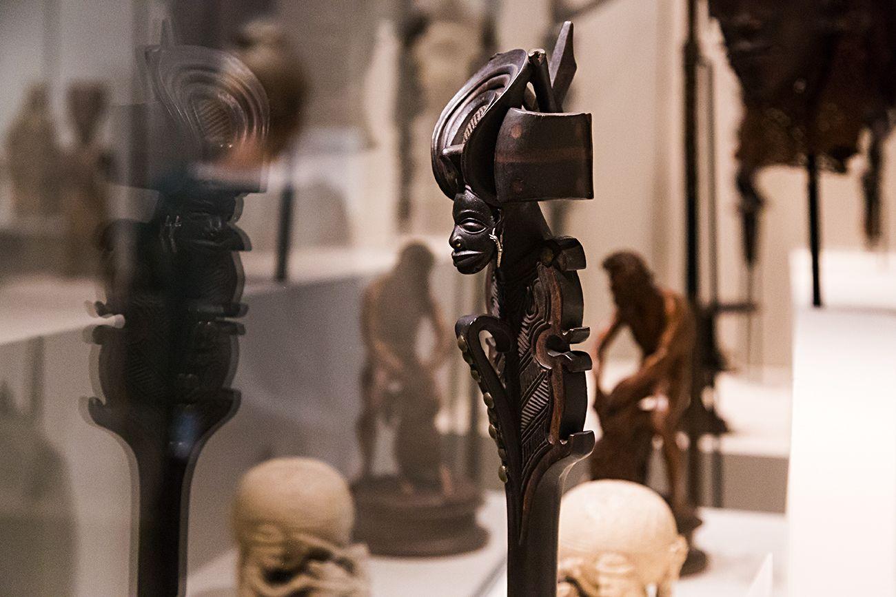 Unvergleichlich: Kunst aus Afrika im Bode-Museum. Chokwe Zepter