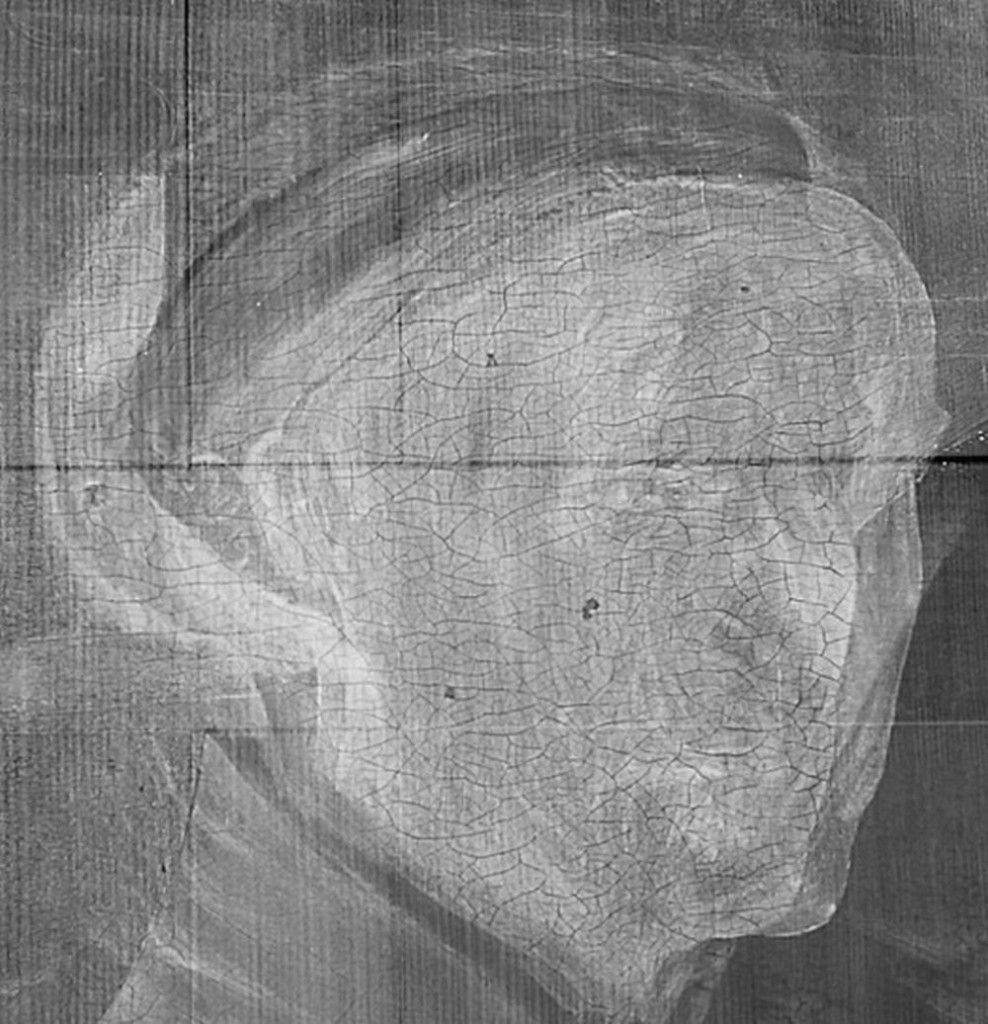 Röntgenaufnahme  © Staatliche Museen zu Berlin, Gemäldegalerie / Christoph Schmidt